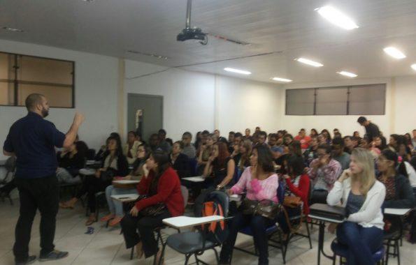 Palestra na Universidade Estácio de Sá – Cabo Frio
